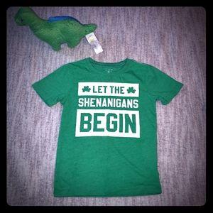 Carter's green St. Patrick's Day Irish t-shirt